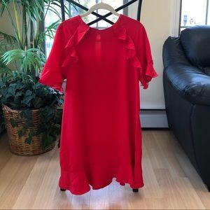 🆕 NWT Zara Red Tunic Dress